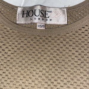 House of cb mesh top